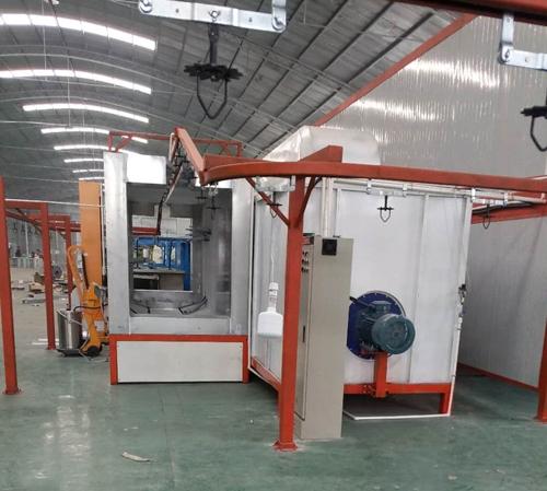 喷塑设备生产线