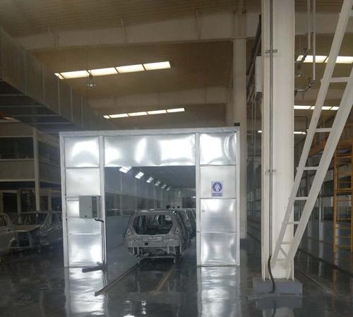 汽车厂涂装设备生产线